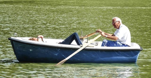 dvojice na loďce