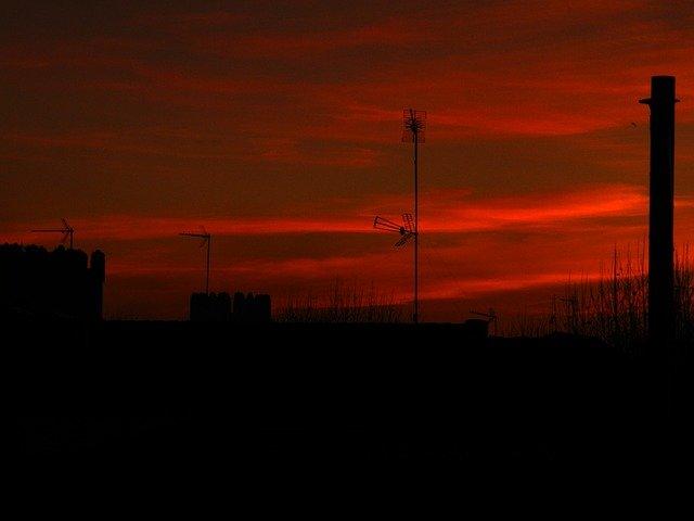 červená obloha