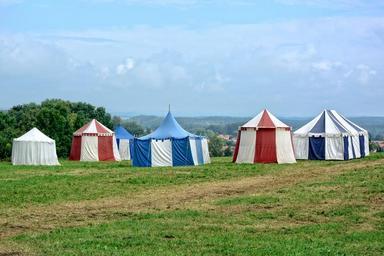 stanový tábor